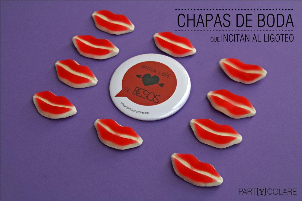 CHAPAS DE BODA   Desde .....