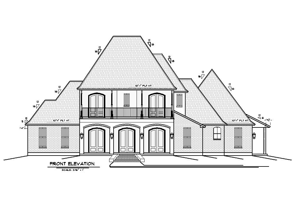 Gallery palmetto design for Acadiana home design