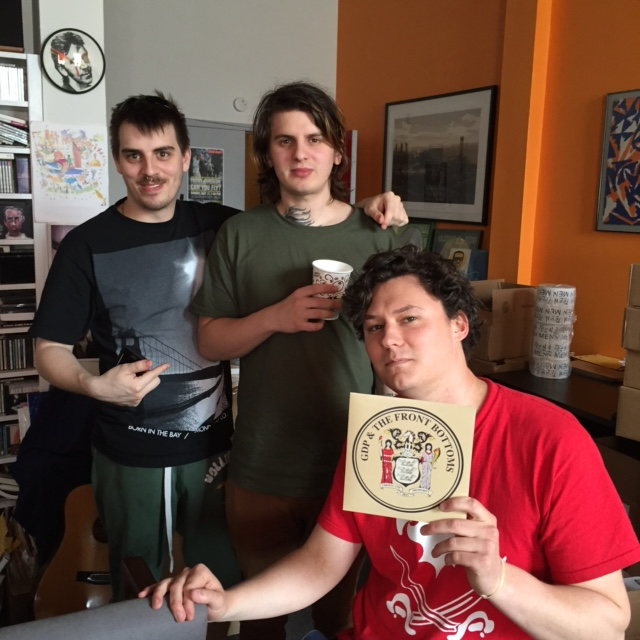 gdp the front bottoms split out now bar none records