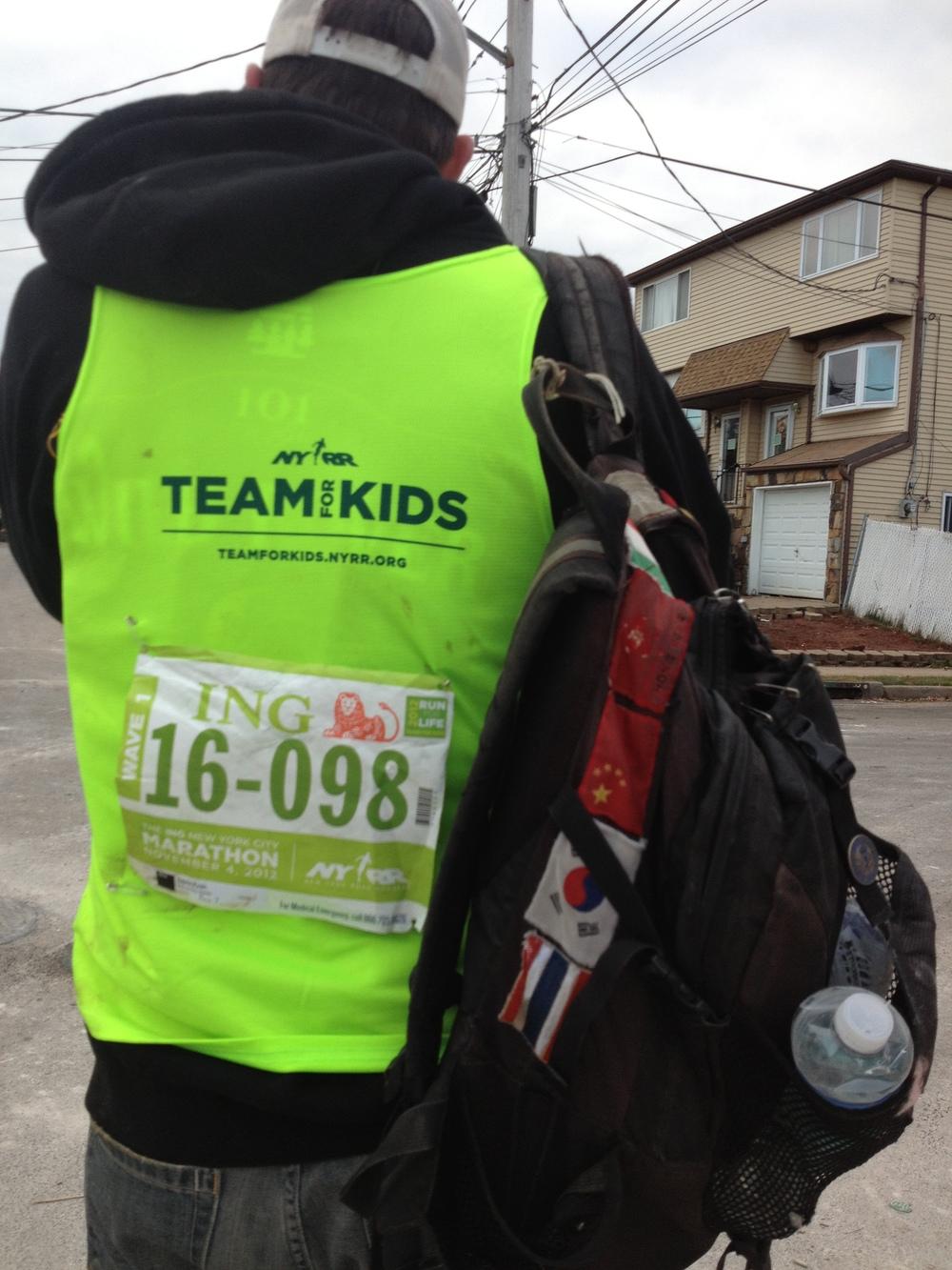 Marathon runner turned SI volunteer