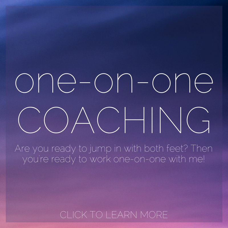 one-on-one coaching with lindsey rae