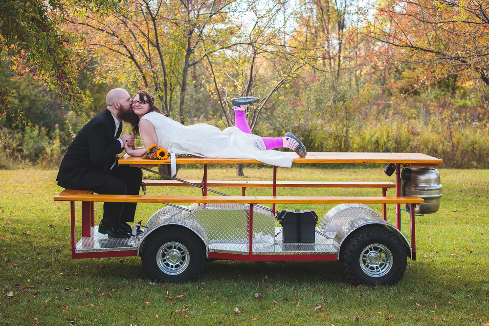 The BEST Wedding LIMO EVER!!