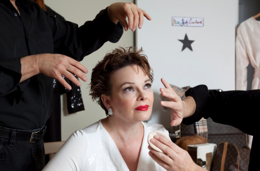 Kimberly Roberts as Judy Garland, Make-up and Hair by Dino Dilio