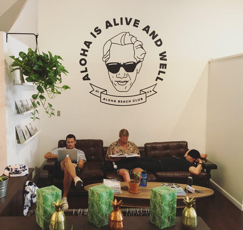 Aloha Beach Club.