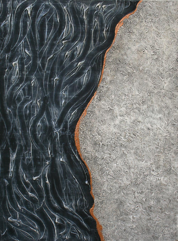 Vertical View - EQUILIBRIUM, 40 x 30