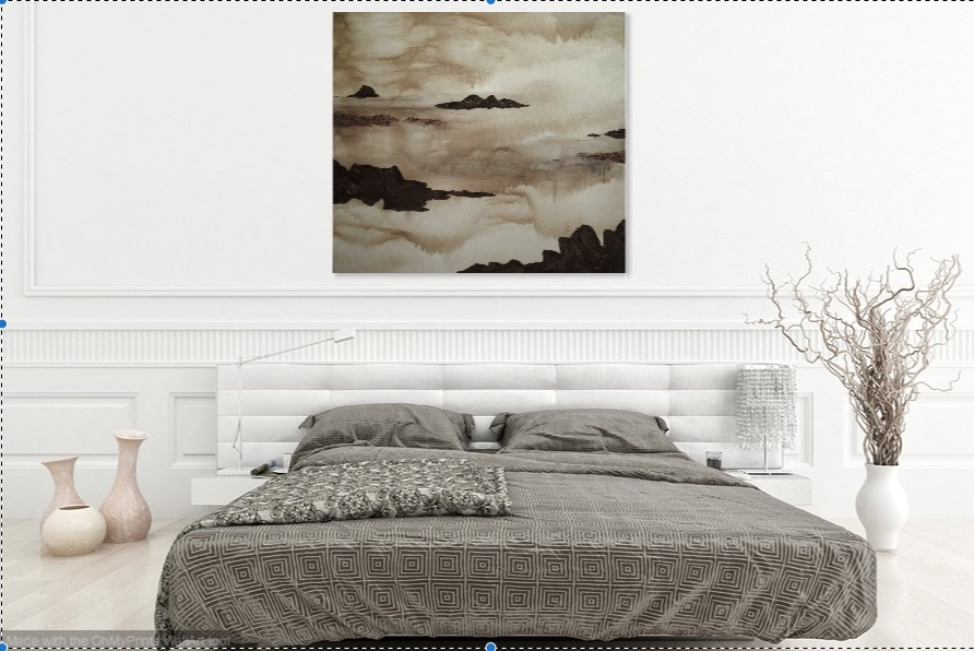 Quietude -  Shown in a bedroom setting.