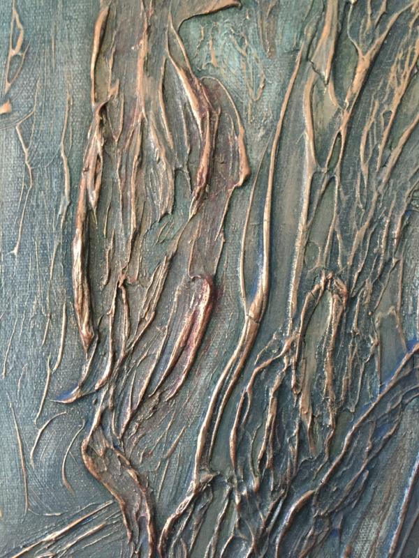 Closeup image of texture.