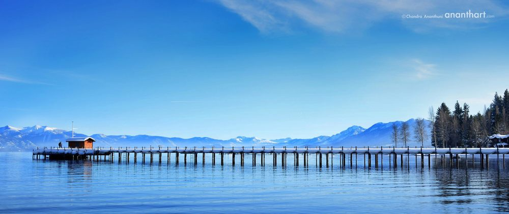Lake Tahoe, Sierra Nevada Mountains.