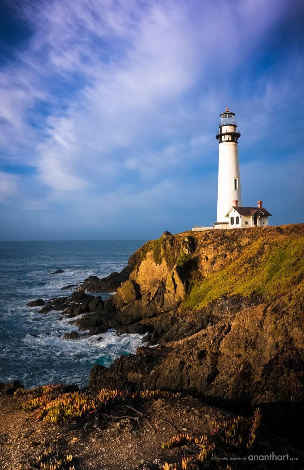 Pigeon Point Lighthouse Santa Cruz California