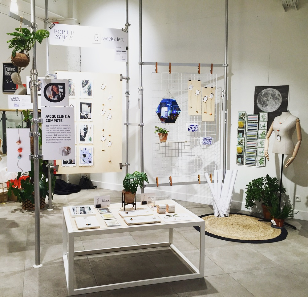 Pop Up Space Juttu Antwerpen