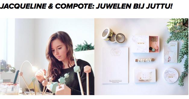 Lees hier nog het artikel over Jacqueline & Compote