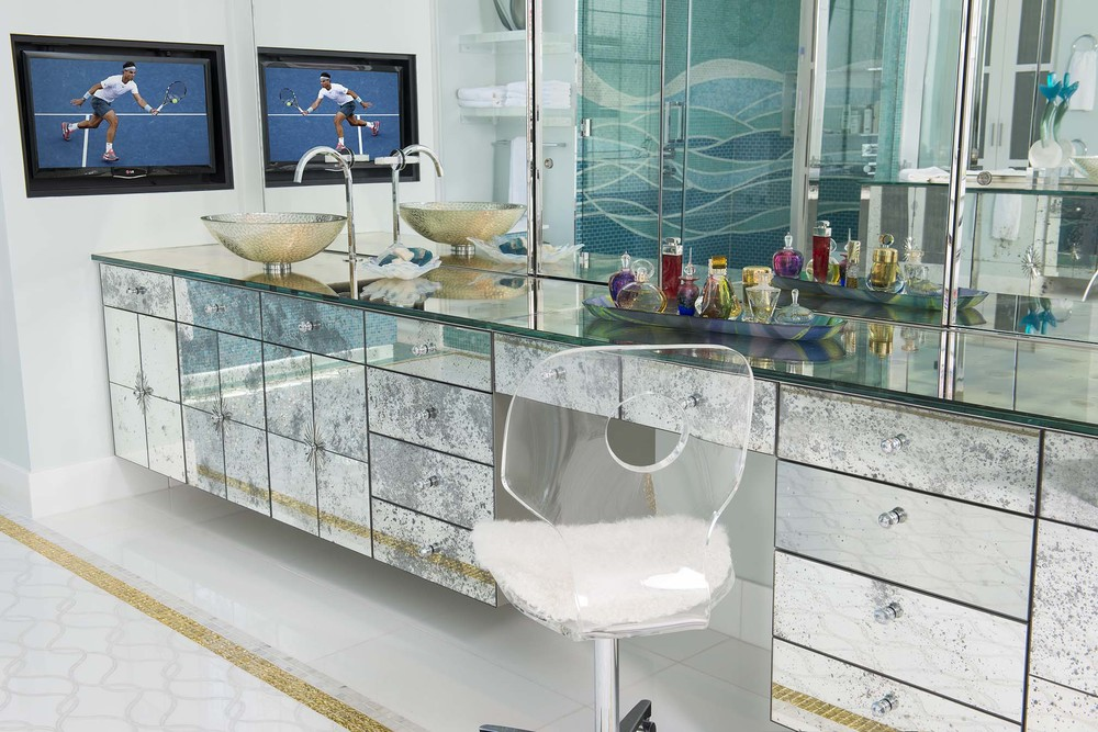 Master Bath Her Vanity