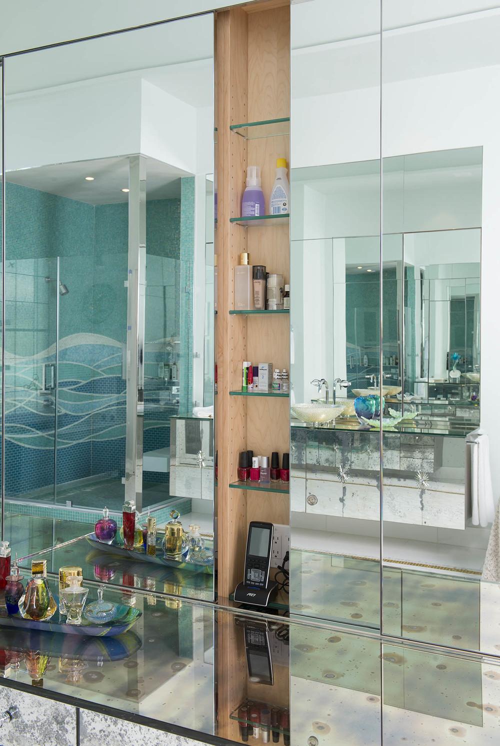 Master Bath Cabinet Detail
