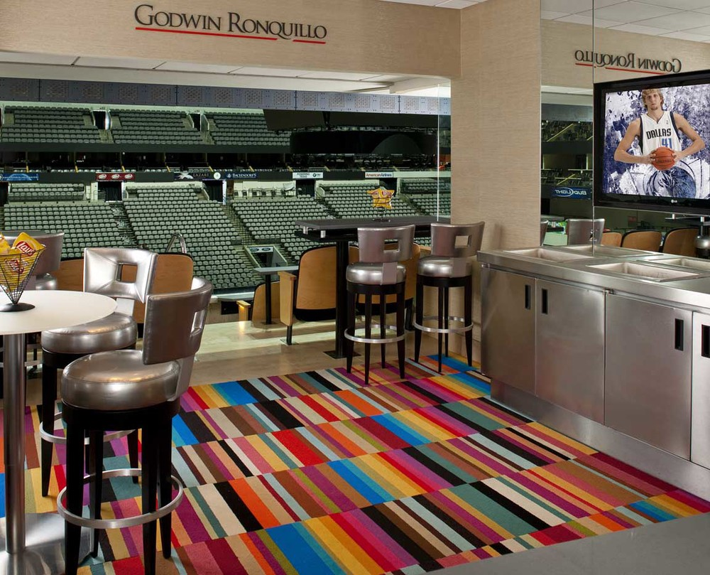 American Airline Center Seating Area