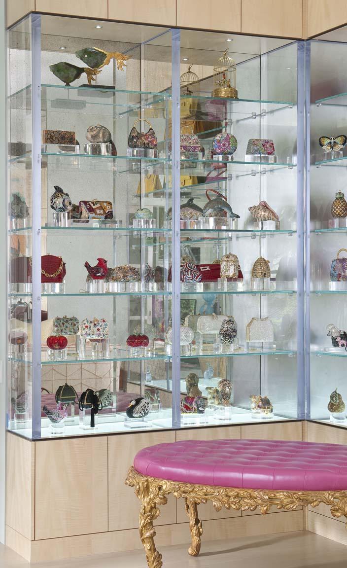 Custom furnishings mary anne smiley interiors - Custom display cabinets ...