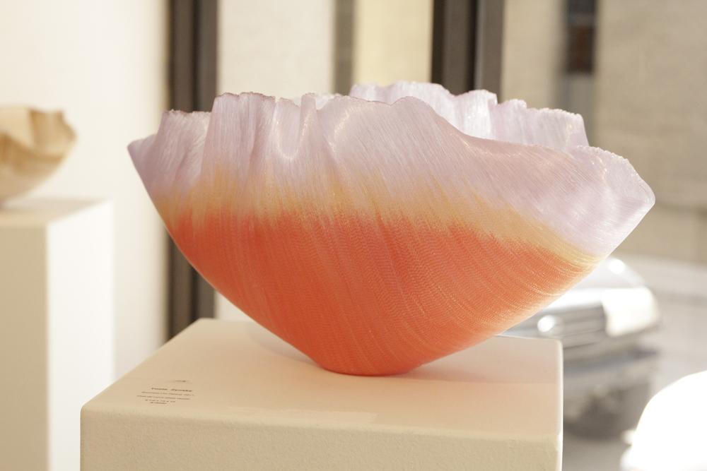 Toots Zynsky, Fillet-de-Verre glass vessel