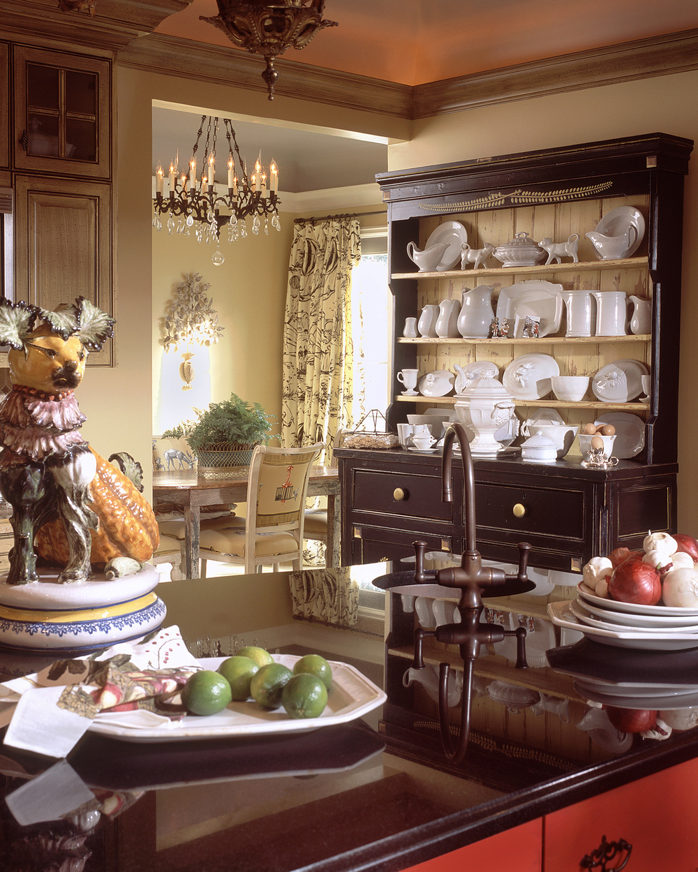 Highland Park Tudor Breakfast Room