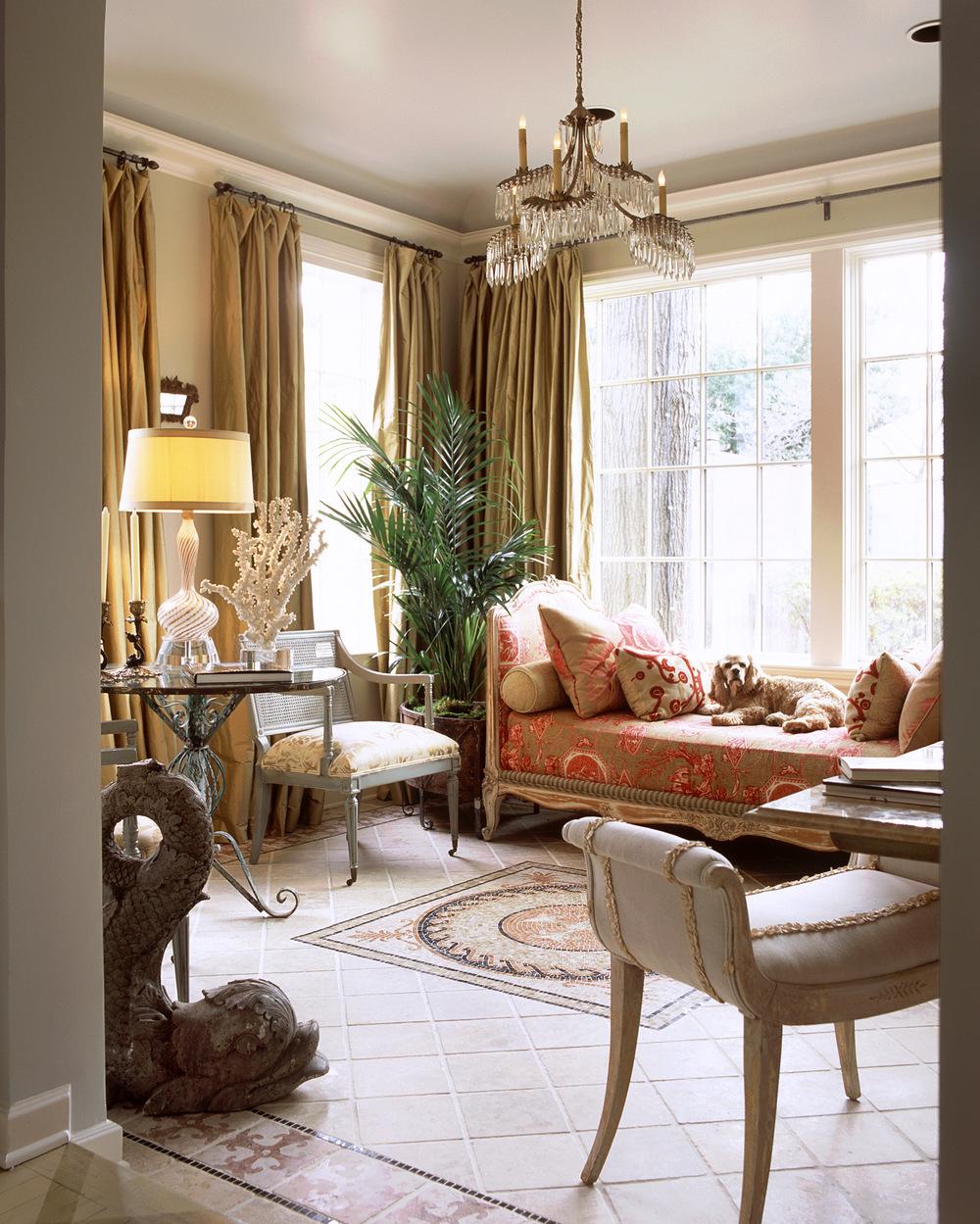 Highland Park Tudor Sun Room