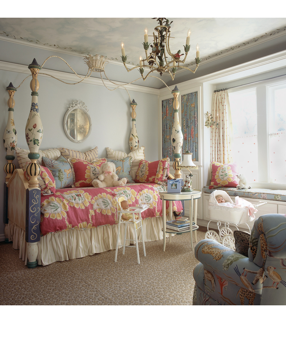 Highland Park Tudor Little Girls Room