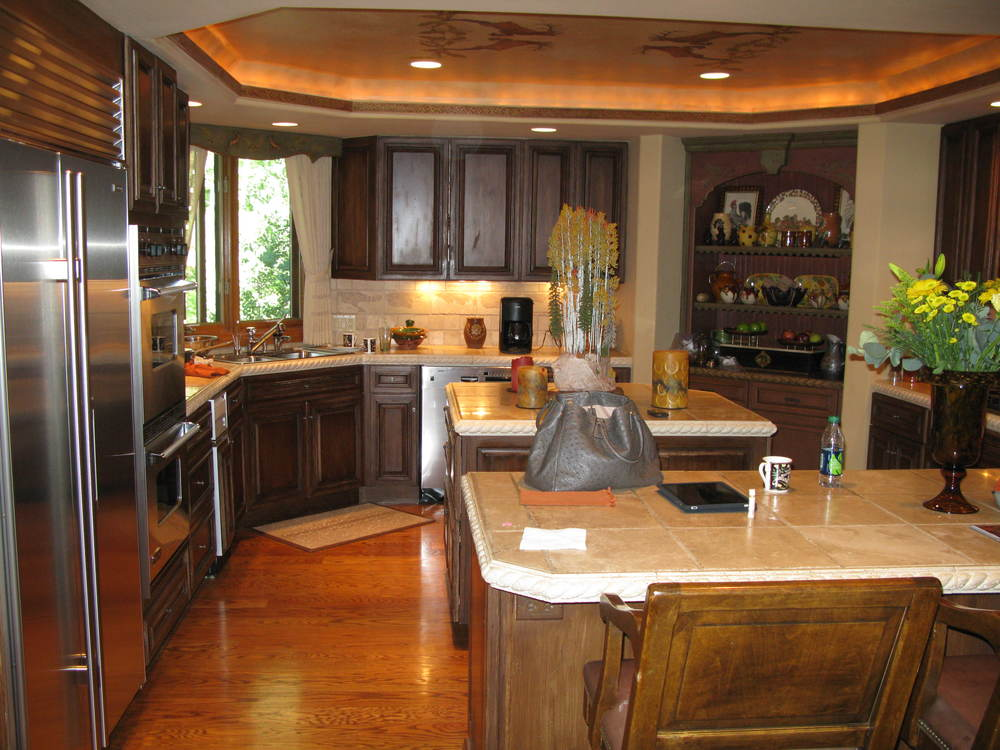 Vail Getaway Kitchen Before