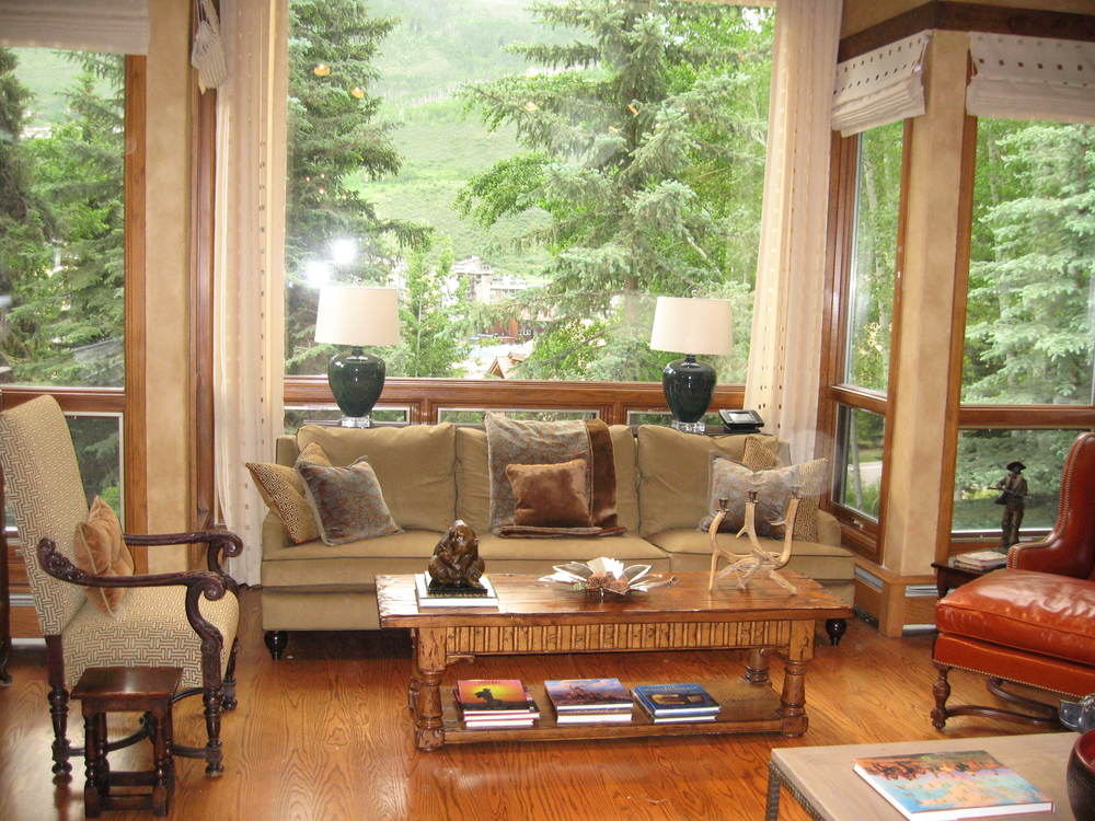 Vail Getaway Living Room Before