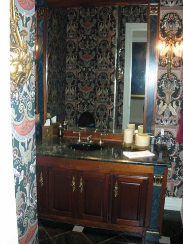 Strait Lane Estates Powder Room Before