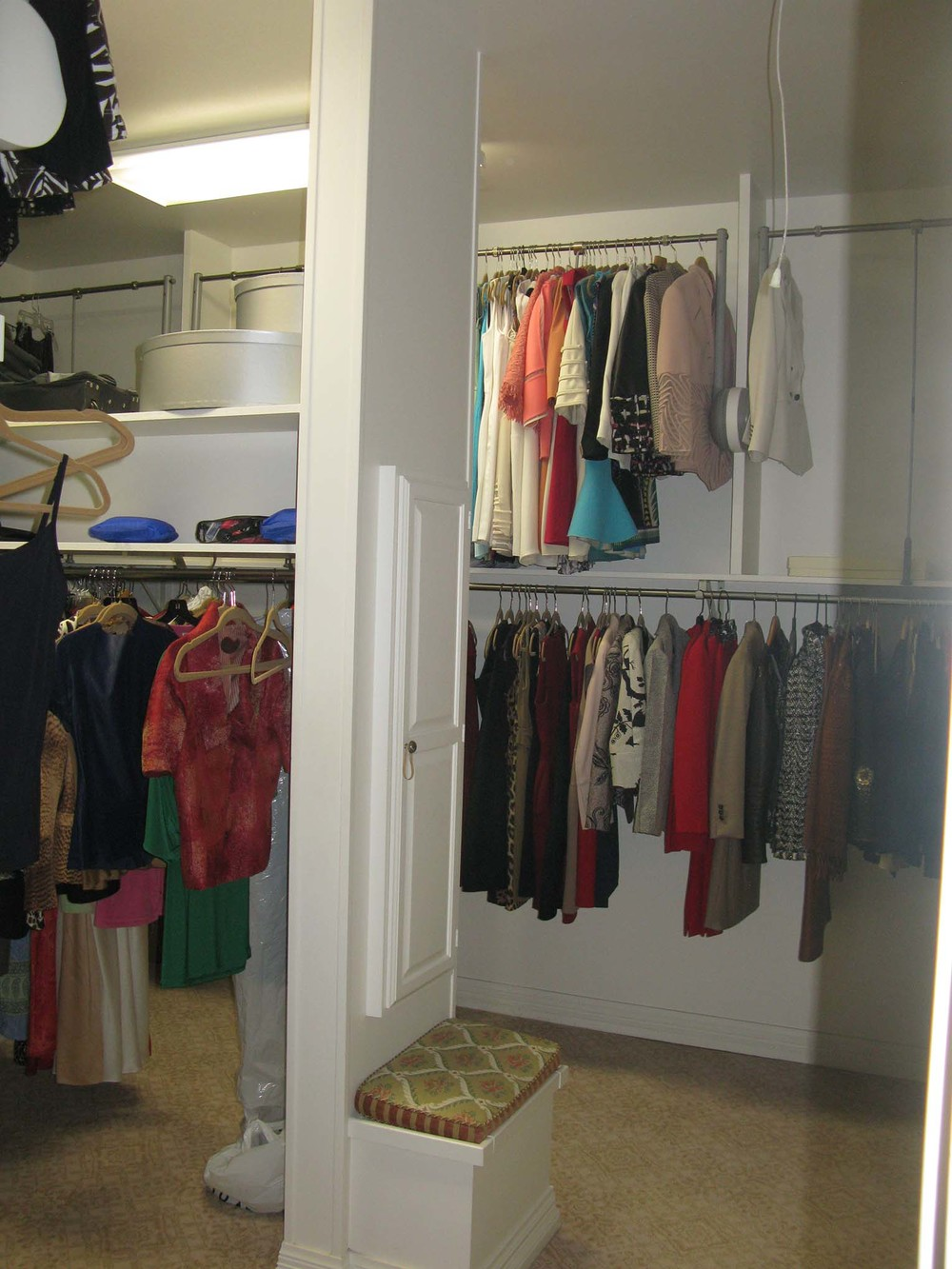 Strait Lane Estates Closet Before