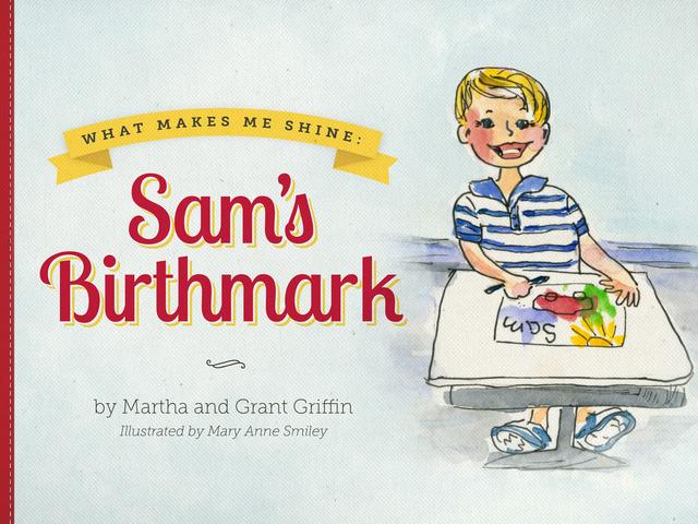 """Sam's Birthmark"" cover"