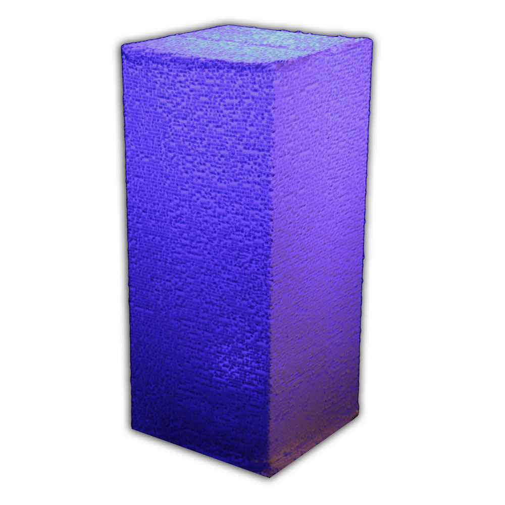 Custom Pedestal Linen. Fabrics & dimensions may vary.