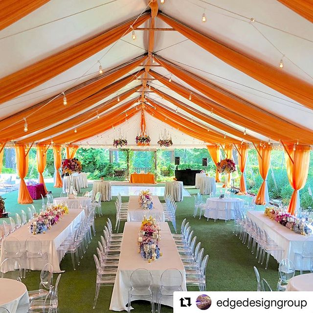 Nothing wrong with a little color! We love it when we get to use different colors #Repost @edgedesigngroup with @get_repost ・・・ Summer Speaks: our most colorful wedding of the year. Using multiple sherbet hues, we created floral chandeliers, tall arrangements, and ombré floral runners that were inspired by our bride's love of color. #edgedesignweddings Planner @soireeseventplanning Drape @uniqueeventelements • • • #receptiondecor #weddingdesigner #colorfulwedding #weddingdecor #tallcenterpieces #floralgarland #weddingideas #weddingcandles #luxuryweddingdesigner #floralrunner #weddingstatement #weddingflorals #yellowtulips #georgiaweddings