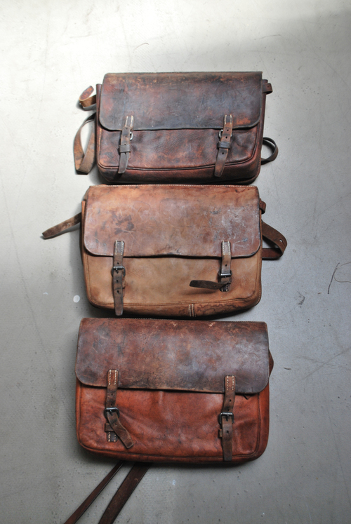 Swiss WWII Saddle Bag Satchel — The Marblehead Salt Co.