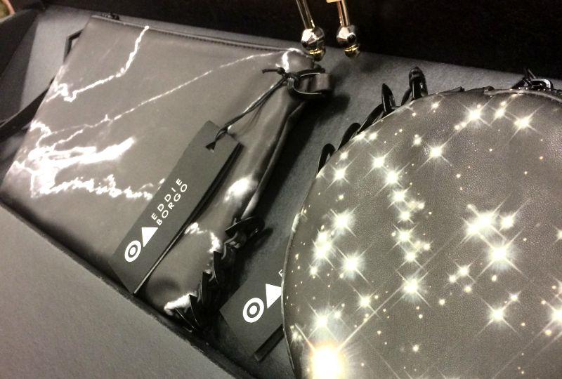 eddie borgo for target galaxy bag collection