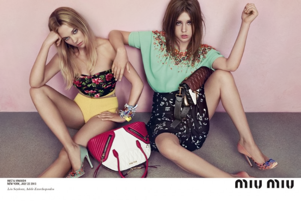 miu miu 2014 resort collection beverly hills campaign