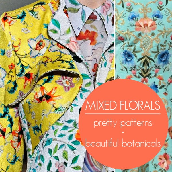 how to wear mixed florals