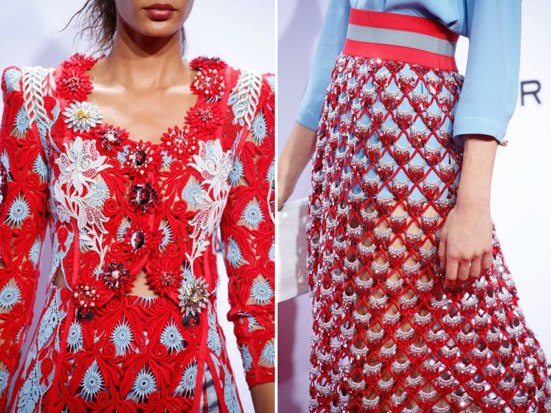 NYFW SS16 MARC JACOBS SPRING SUMMER RUNWAY DETAILS
