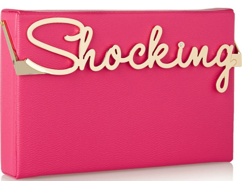 Charlotte Olympia Shocking Box Clutch