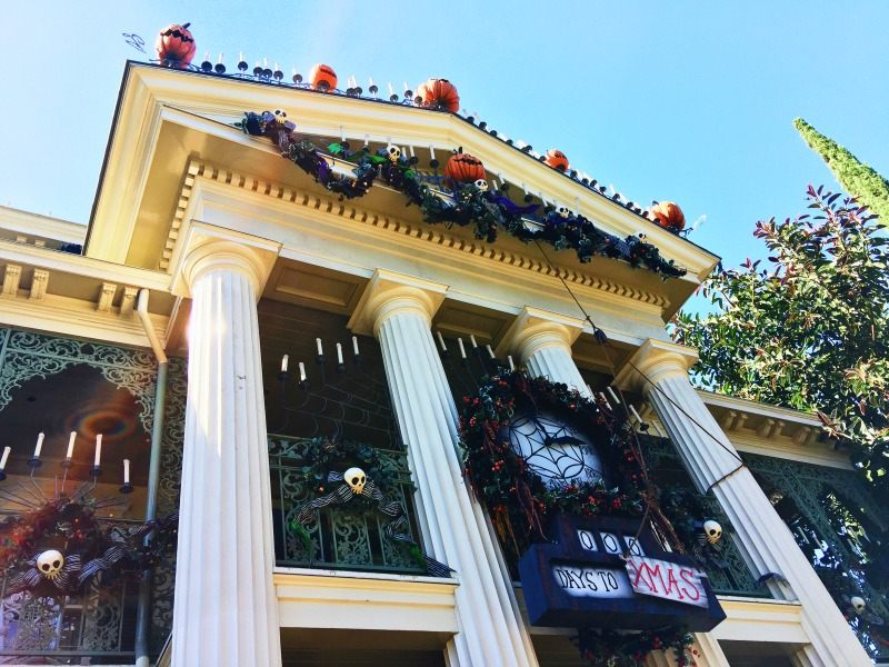 Disneyland California Adventure Halloween Haunted Mansion Nightmare Before Christmas Jack Skellington
