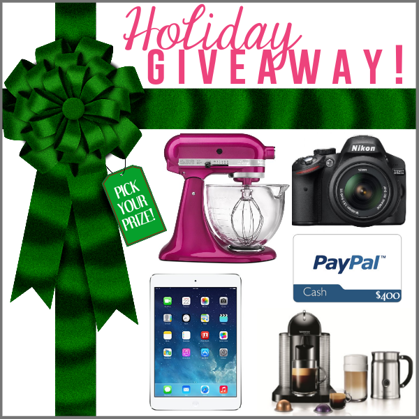 holiday giveaway christmas sweepstakes free gift card