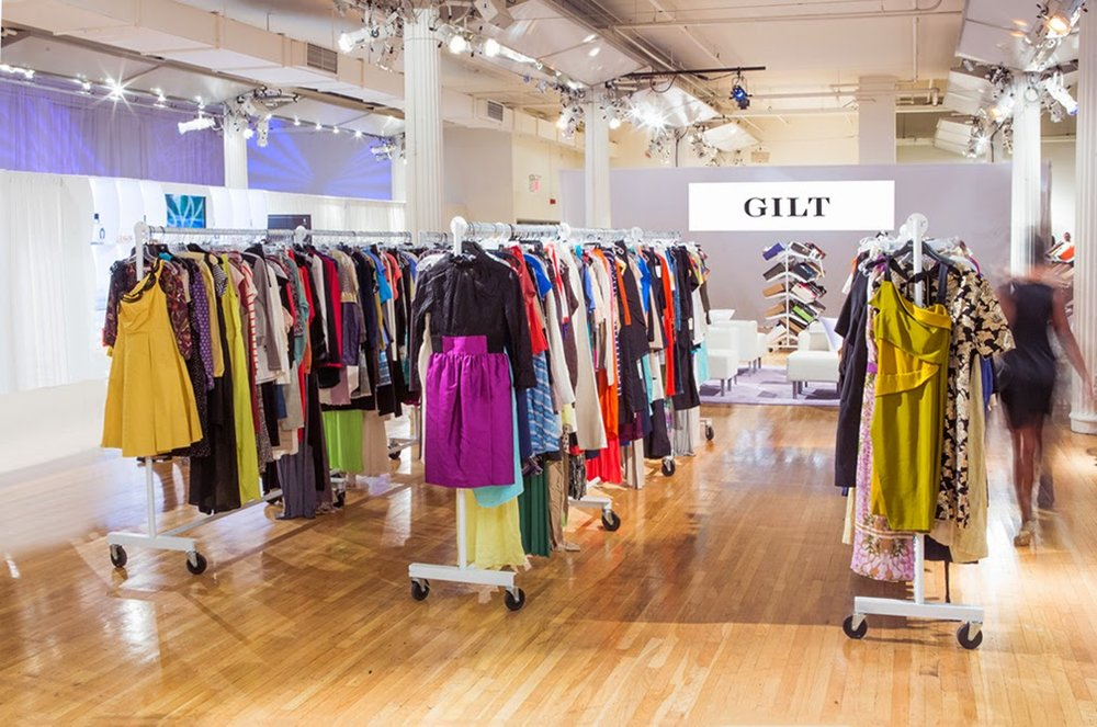 gilt sample sale shopping las vegas