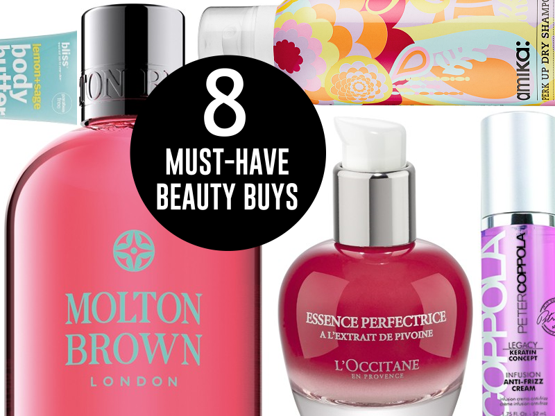 8 MUST HAVE SUMMER BEAUTY BUYS