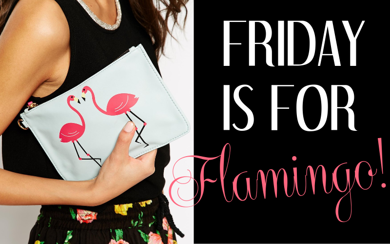 flamingo summer trend clutch bag must haves