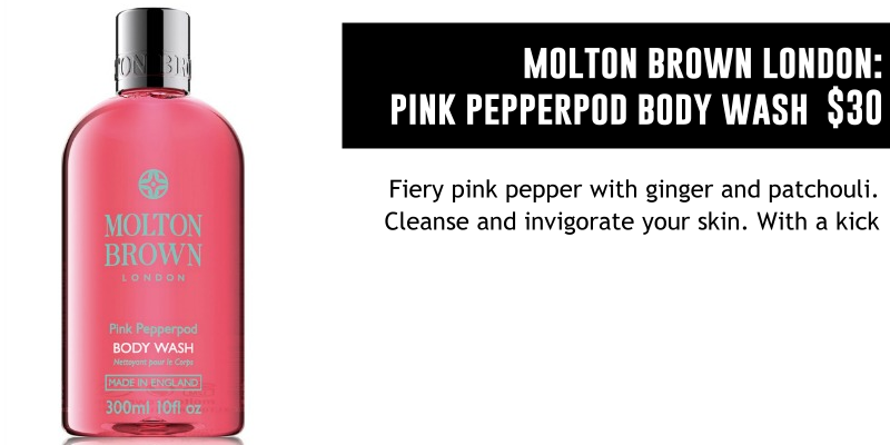 MOLTON BROWN LONDON PINK PEPPERPOD BODY WASH
