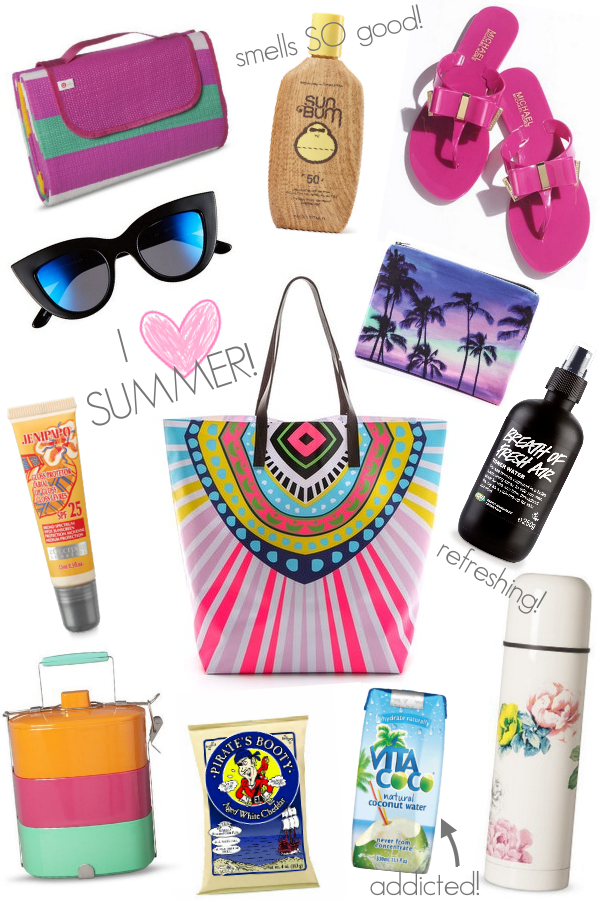 12 summer beach bag must haves