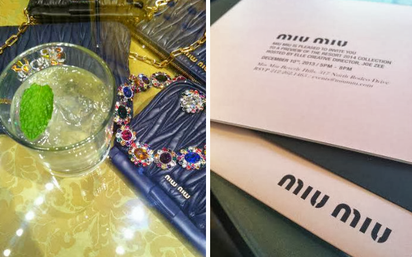 miu miu 2014 resort collection beverly hills joe zee
