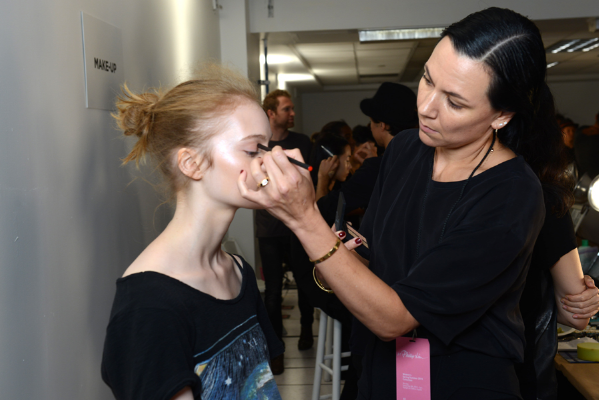 3.1 phillip lim ss15 nars beauty runway look Francelle Daly