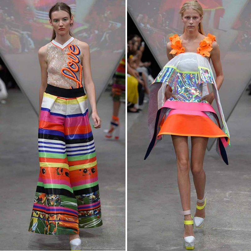 FYODOR GOLAN SS15 LONDON FASHION WEEK RUNWAY