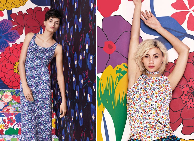 UNIQLO LIBERTY LONDON COLLAB CAMPAIGN SPRING