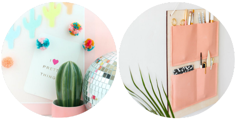 CRICUT-GIVEAWAY-SPRING-DIY-FLUFFY-YARN-POM-POM-MAGENTS-LOVELY-INDEED-HANGING-ORGANISER-THE LOVELY-DRAWER-BLOGGER