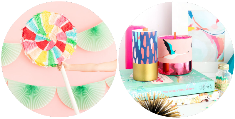 CRICUT-GIVEAWAY-SPRING-LOLLIPOP-PINATA-MAKEOVER-OH-HAPPY-DAY-DIY-PATTERN-WRAPPED-CANDLES-KAILO-CHIC-LIFE-BLOGGER