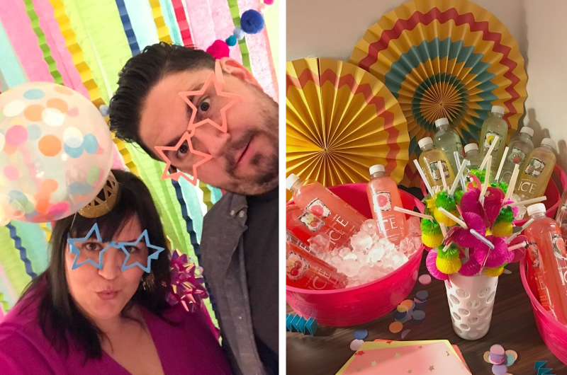 things-to-do-las-vegas-birthday-party-celebrate-sparkline-ice-party-food-decor